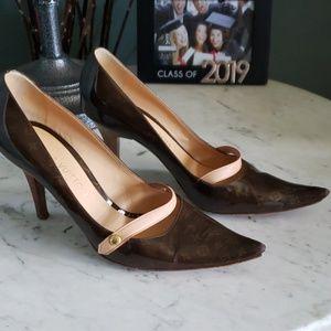 Louis Vuitton Monogram Patent Leather Heels